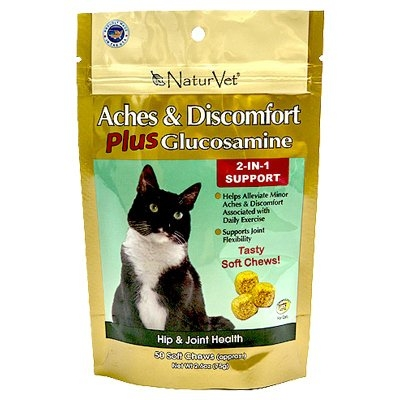 Image of Cat Treats, Aches & Discomfort Plus Soft Chews, 60-Ct.