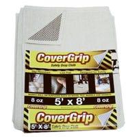 Safety Drop Cloth, 8-oz., 5 x 8-Ft.
