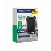Garage Door Opener, Universal Remote Control, Black
