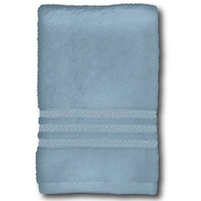 Image of Bath Towel, Spa Blue Cotton, 27 x 54-In.