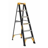 Step Ladder, Type II, Fiberglass, 6-Ft.