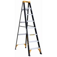 Step Ladder, Type II, Fiberglass, 8-Ft.