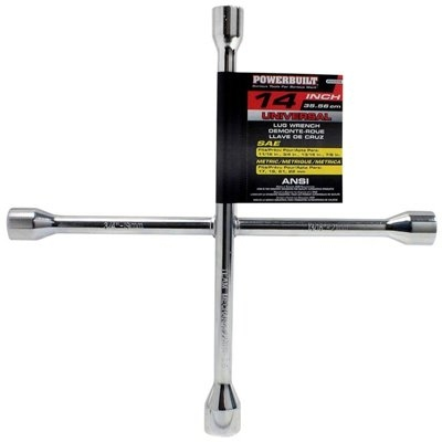 Image of Universal/SAE/Metric Lug Wrench, 14-In.