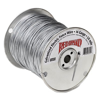 Image of Electric Fence Wire, .25-Mile, 14-Gauge