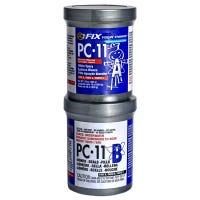 Epoxy Paste, White, 2 Component, PC-11, 1-Lb.