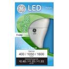 LED 3-Way Light Bulb, Daylight, 4/10/16-Watts