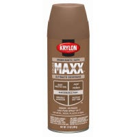 CoverMaxx Spray Paint & Primer, Satin, Brown Boots, 12-oz.
