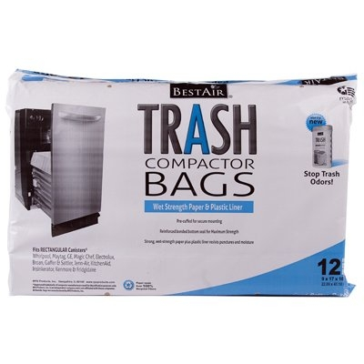 Image of Trash Compactor Bags, 2-Ply, 12-Pk.