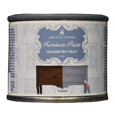 Image of Chalk Finish Paint, Chambord Gray, 4-oz.