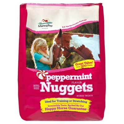 Image of Peppermint Nugget Bite Size Horse Treats, 4-Lb.