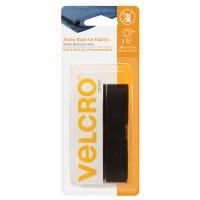 Sticky Back Tape, Black, .75 x 24-In.