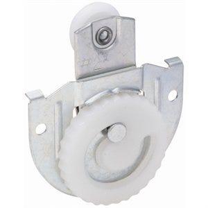 Sliding Door Hanger, Cam-Action Dial, Zinc-Plated, Fits 3/4 to 1-3/8-In. Doors