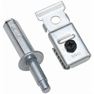 Folding Door Upper Pivots, Zinc-Plated