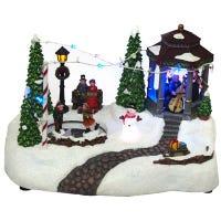 LED Holiday Gazebo Scene, Animated