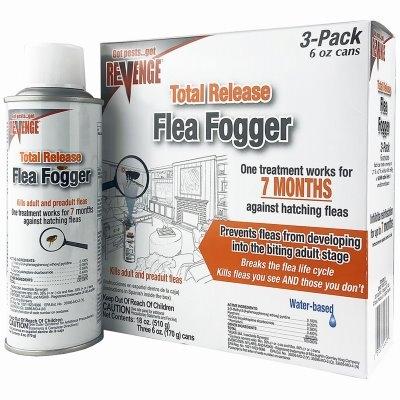 Image of Flea Fogger, 6-oz., 3-Pk.