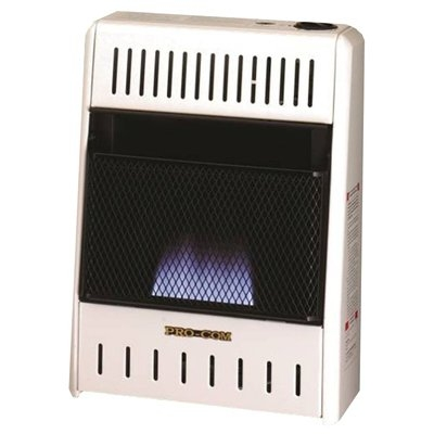 Image of Blue Flame Gas Wall Heater, Dual Fuel, Vent-Free, 10,000-BTU
