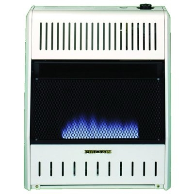 Image of Blue Flame Gas Wall Heater, Dual Fuel, Vent-Free, 20,000-BTU