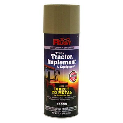 Rust-Preventative Enamel, Paint & Primer for Metal, Truck, Tractor, Implement & Equipment, Ford Gray, 12 oz. Spray