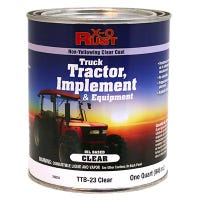 Rust Preventative Paint & Primer, Direct to Metal, Truck, Tractor, Implement & Equipment, Gloss Clear, 1-Qt.
