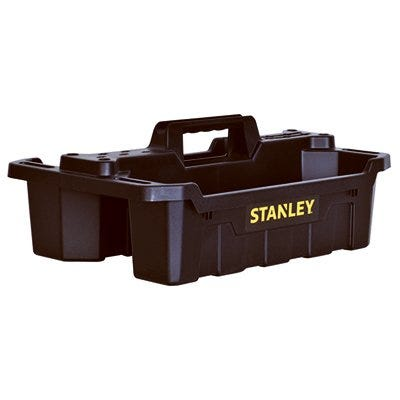 Storage Tote Tray, 19.34 x 13 x 7.6-In.