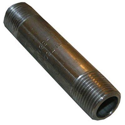 Stainless Steel Pipe Nipple, 3/8 x 6-In.