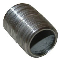 Stainless Steel Pipe Nipple, 1/2-In. x Close