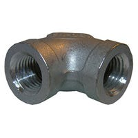 Stainless Steel 90 Degree Pipe Elbow, 3/8-In.