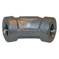 Stainless Steel 45 Degree Pipe Elbow, 1/8-In.