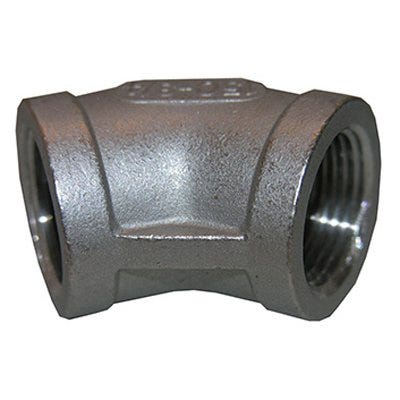 Stainless Steel 45 Degree Pipe Elbow, 3/4-In.