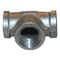 Stainless Steel Female Iron Pipe Tee, 3/4-In.