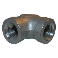 Stainless Steel 90 Degree Pipe Elbow, 1/2-In.
