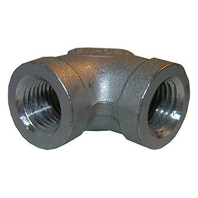 Stainless Steel 90 Degree Pipe Elbow, 3/4-In.
