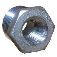 Stainless Steel Reducing Hex Bushing, 1/4 x 1/8-In.