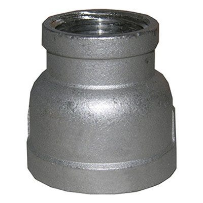 Stainless Steel Bell Reducer, 3/4 x 1/2-In.