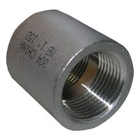 Stainless Steel Pipe Coupling, 3/4-In.