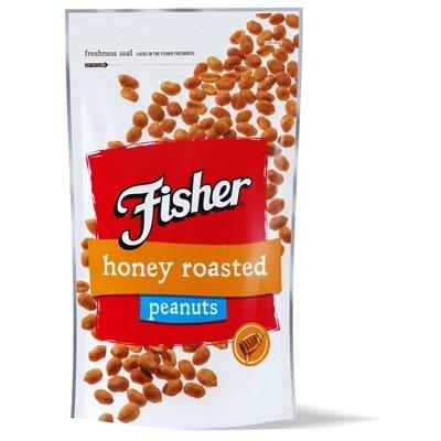 Image of Honey Roasted Peanuts, 10-oz. Bag