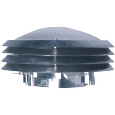 Versa Cap Chimney Cap, Aluminum, Adjusts 4-7/8 To 7-In.