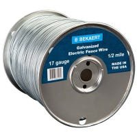 17-Gauge Electric Fence Wire, 2640-Ft.