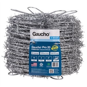 Image of Pro Cattleman Professional Barbed Wire, 14G, 4-Point, 1320-Ft.