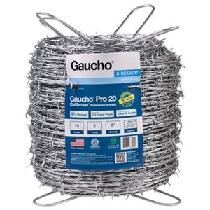 Image of Pro Cattleman Professional Barbed Wire, 14G, 2-Point, 1320-Ft.