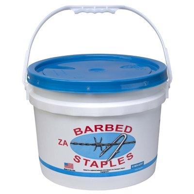 Image of 8-Gauge Barbed Fence Staples, 2-In., 50-Lb. Bucket
