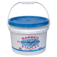 8-Gauge Fence Staples, 1.75-In., 50-Lb. Bucket
