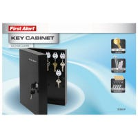Key Cabinet, Wall-Mount, Steel, .2-Cu. Ft.