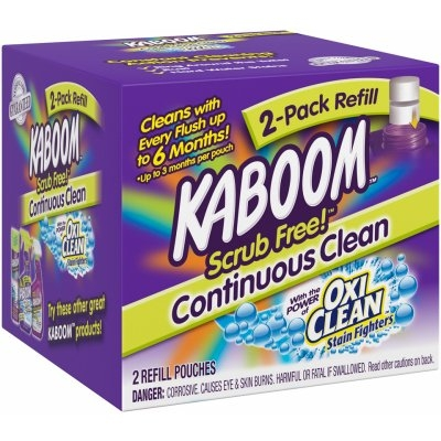 Image of Scrub Free! Toilet Cleaning System Refill Pouches, 2-Ct.