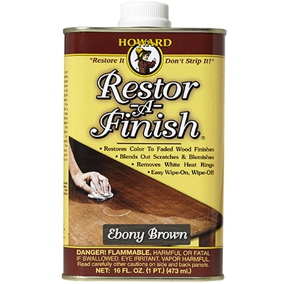 Image of Wood Finish, Ebony, 16-oz.