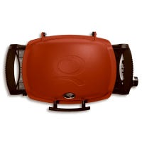 Q-1200 Portable Gas Grill, 8500 BTU, Red