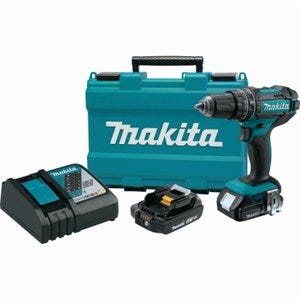 18-Volt Cordless Hammer Driver Drill Kit, 1/2-In., 2 Lithium-Ion Batteries