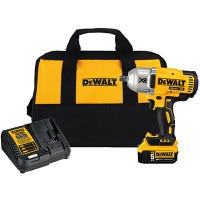 20-Volt Max XR High Torque Impact Wrench Kit, Brushless Motor, 1/2-In., Lithium-Ion Battery