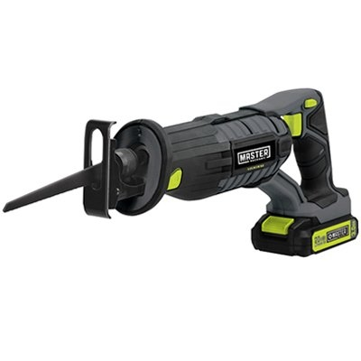 Image of Compact Cordless Reciprocating Saw, 20-Volt Lithium-Ion