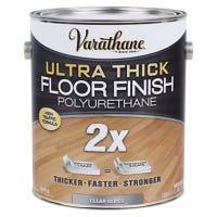 Ultra Thick Polyurethane Floor Finish, Gloss, Water-Based, 1-Gallon